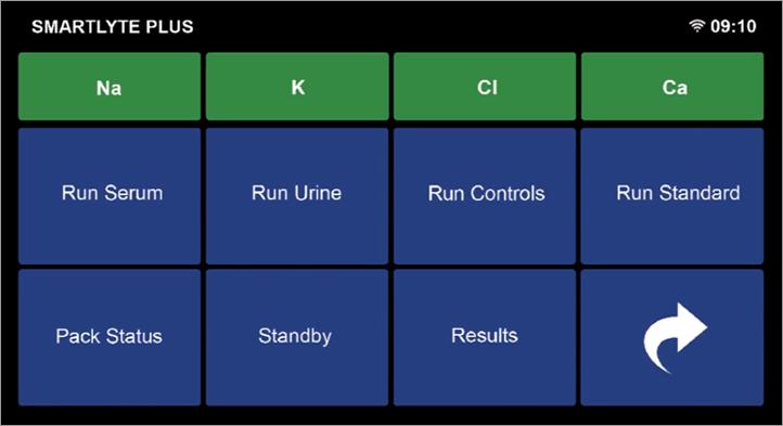 SmartLyte® Plus Electrolyte Analyzer with OnScreen Diagnostics