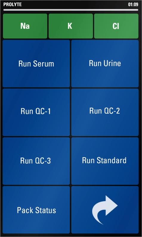Prolyte® Electrolyte Analyzer with OnScreen Diagnostics