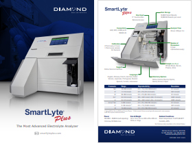 Diamond Diagnostics SmartLyte® Plus Electrolyte Analyzer